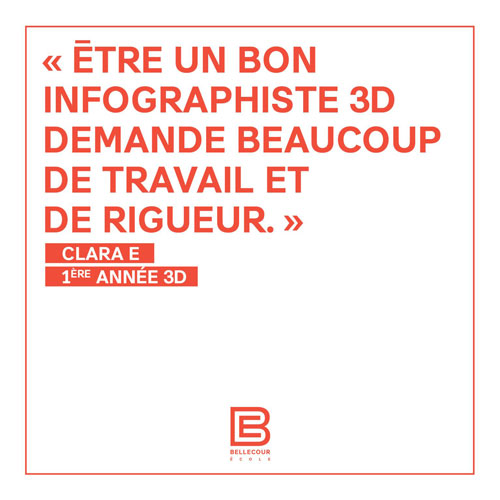 temoignage 1ere annee bachelor animation 3d