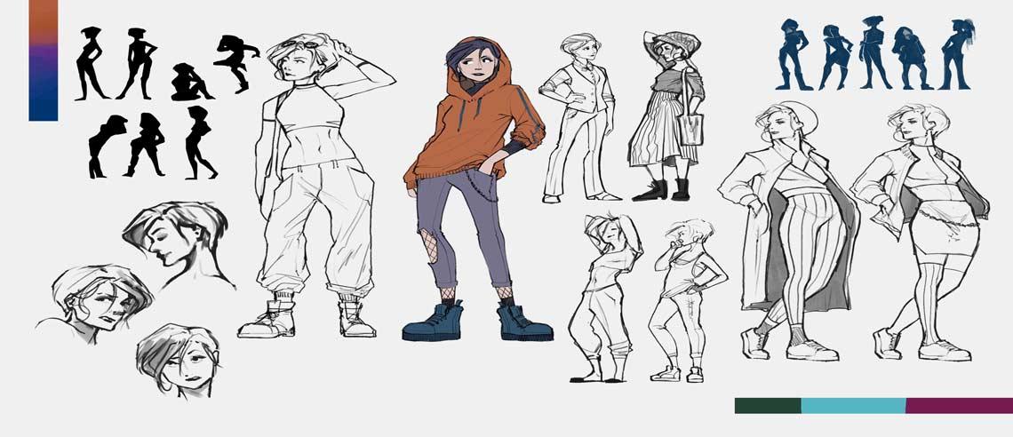 devenir character designer
