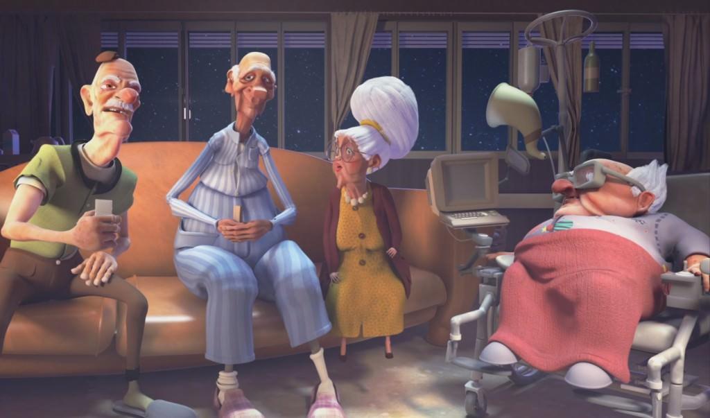 Jamais Sans Mon Dentier - Film d'animation 2016 Bellecour Ecole
