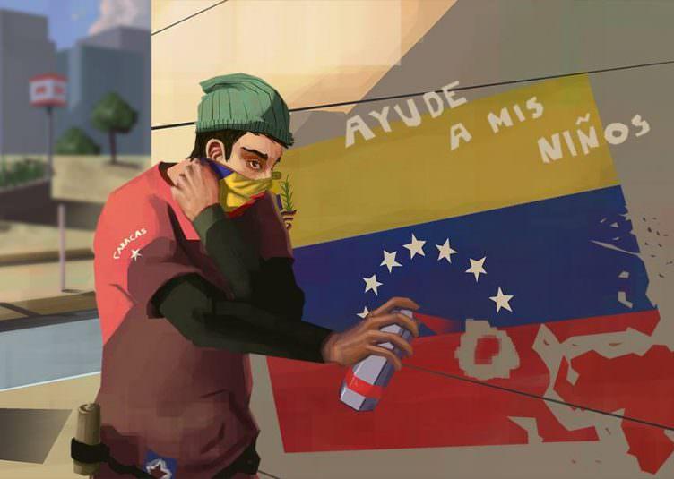 Bachelor Concept Art : Un vénézuélien dans la ville