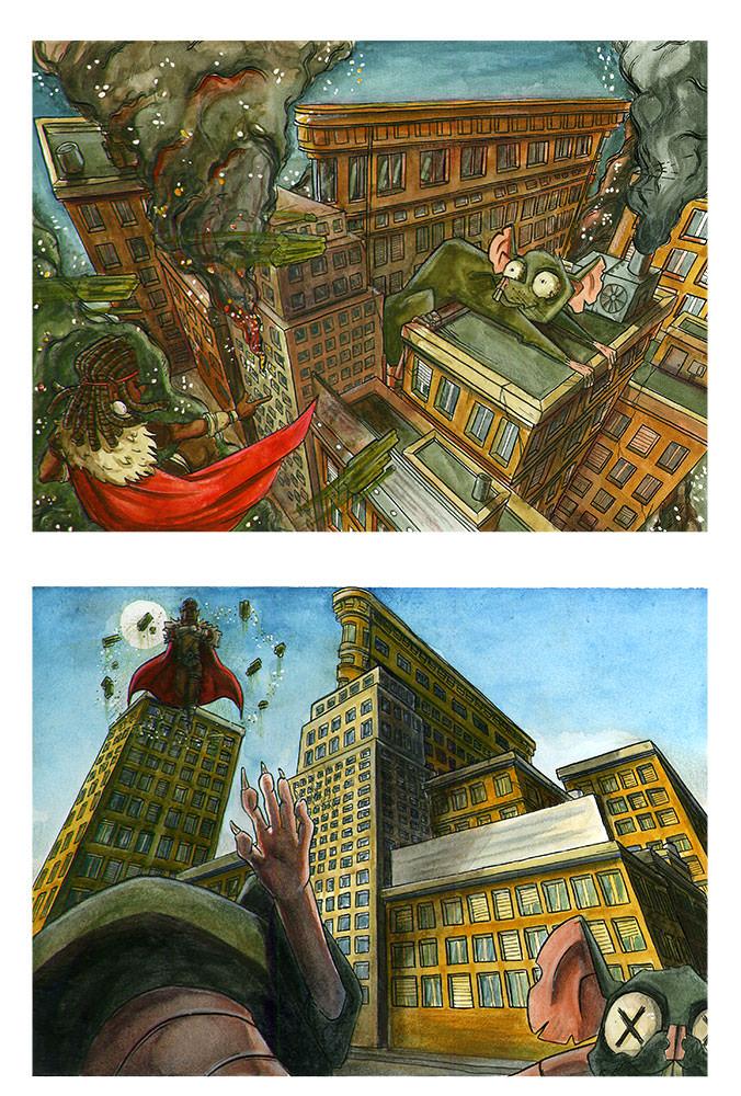 «Mort aux rats» projet de Violette H.