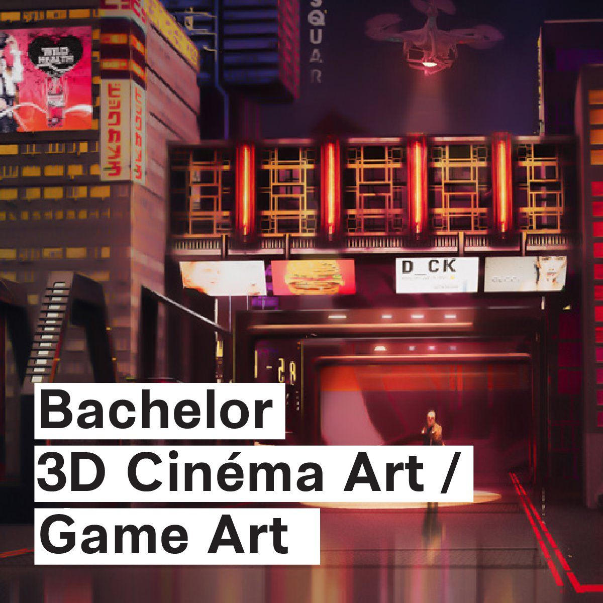Bellecour Ecole - 3D Cinema Art - Game Art