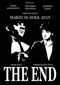 THE END - Mastère Réalisation 3D - Bellecour école