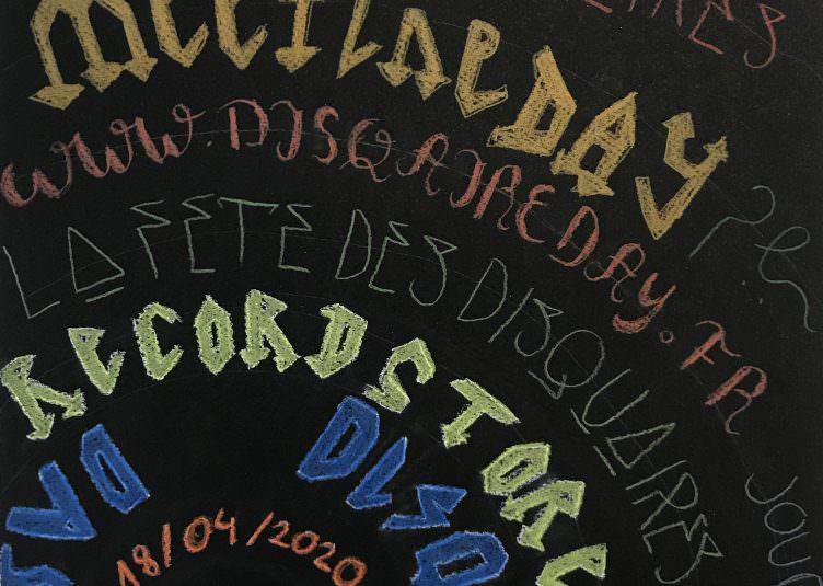 Disquaire day - Musique & Graphisme - Bellecour école