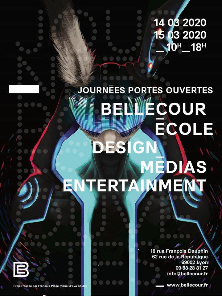 Bellecour Ecole JPO 2020 affiche
